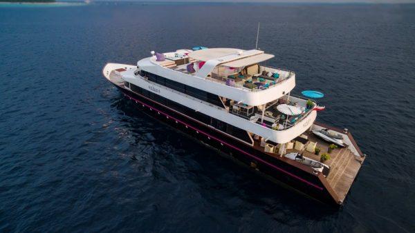 Mahalo Luxury Boat trip on board of Azalea Vessel in the Maldives.