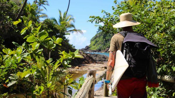 Trail to the beach Prainha