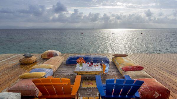 Sun deck at Sweet Bocas del Touro_Panama